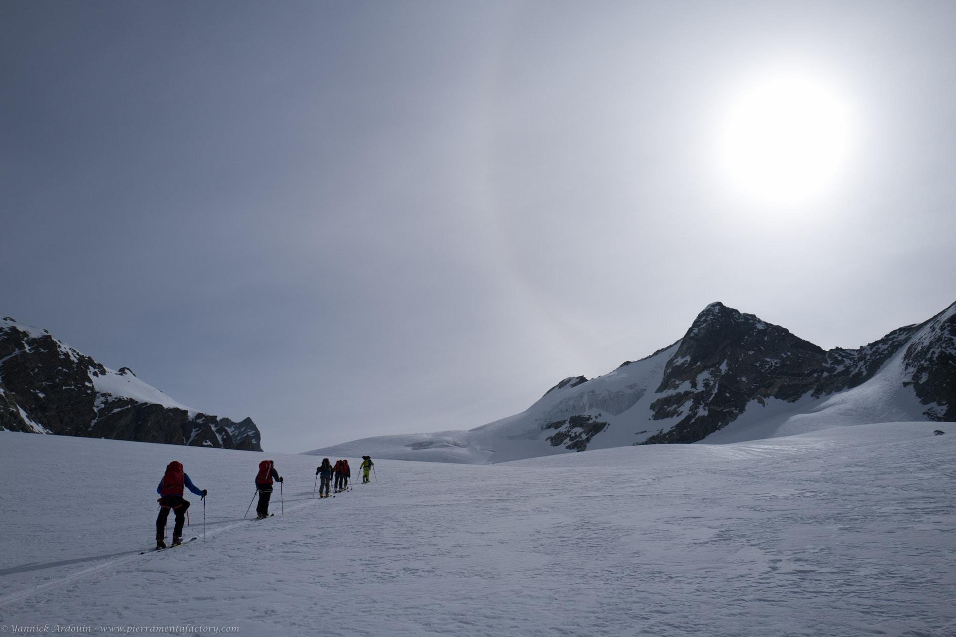 Haute Route Chamonix Zermatt à ski