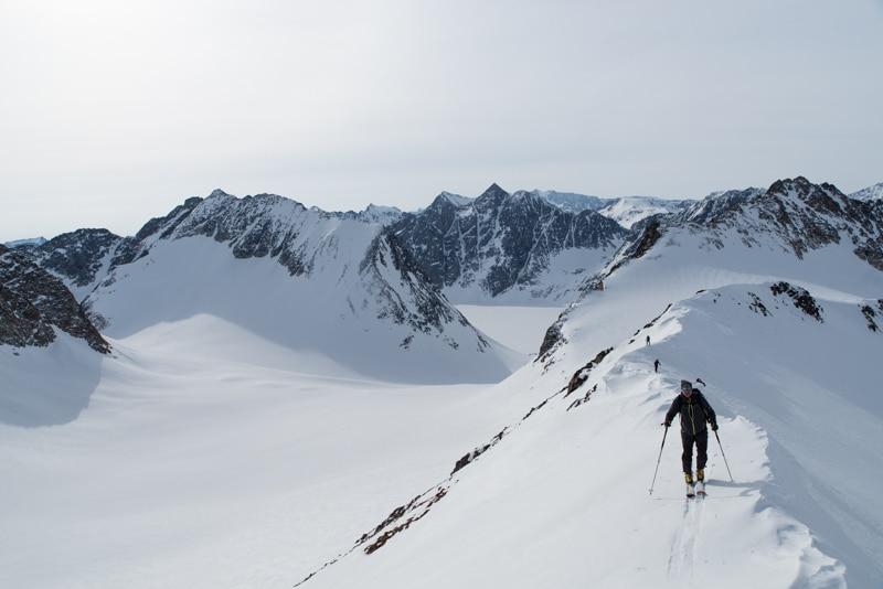 Ski de rando au Groenland