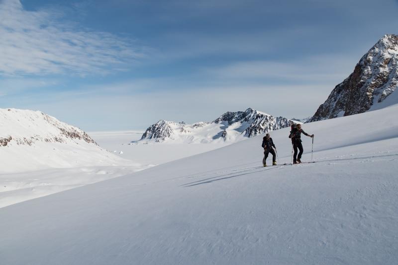 Expédition ski au Groenland