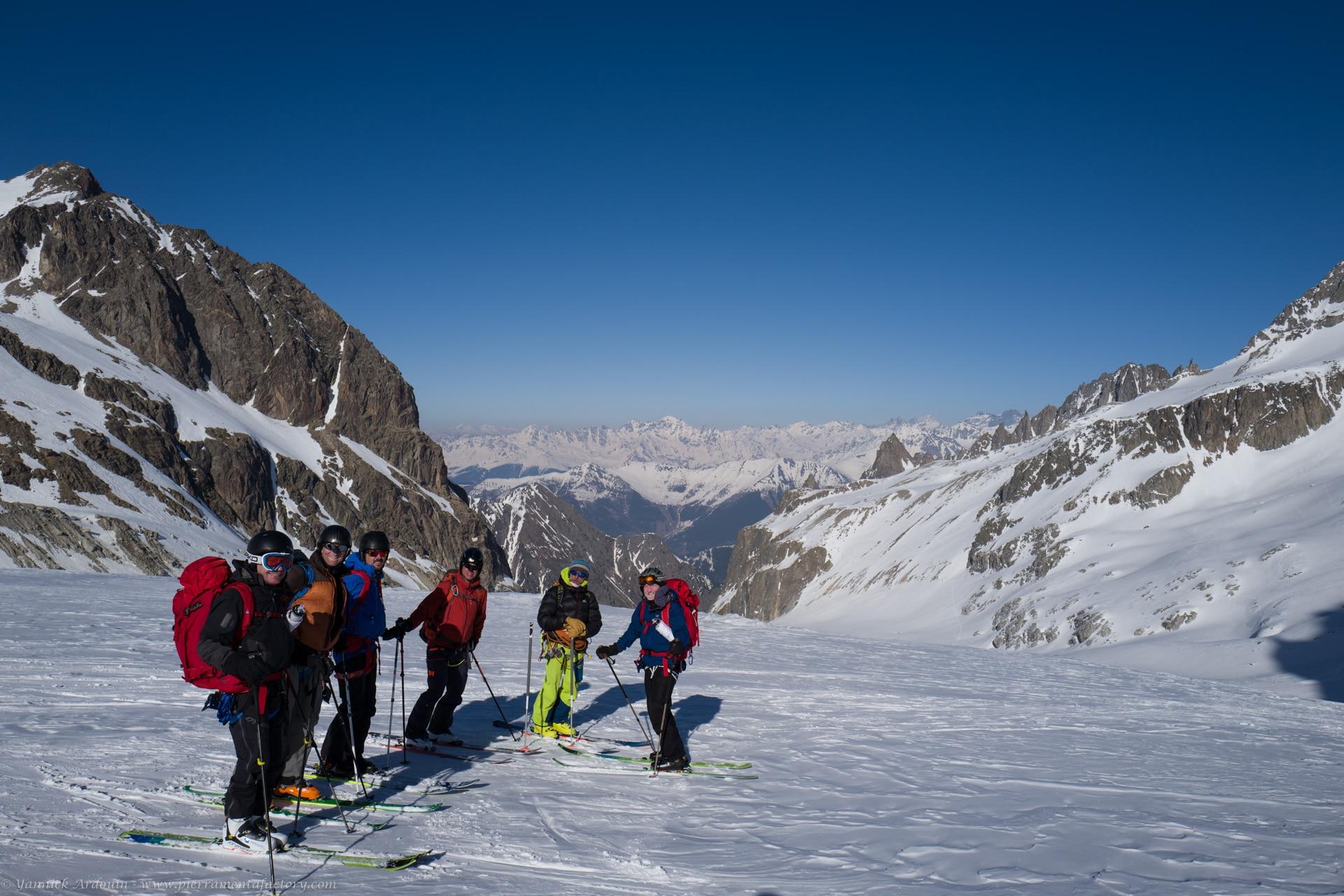 Haute Route à skis