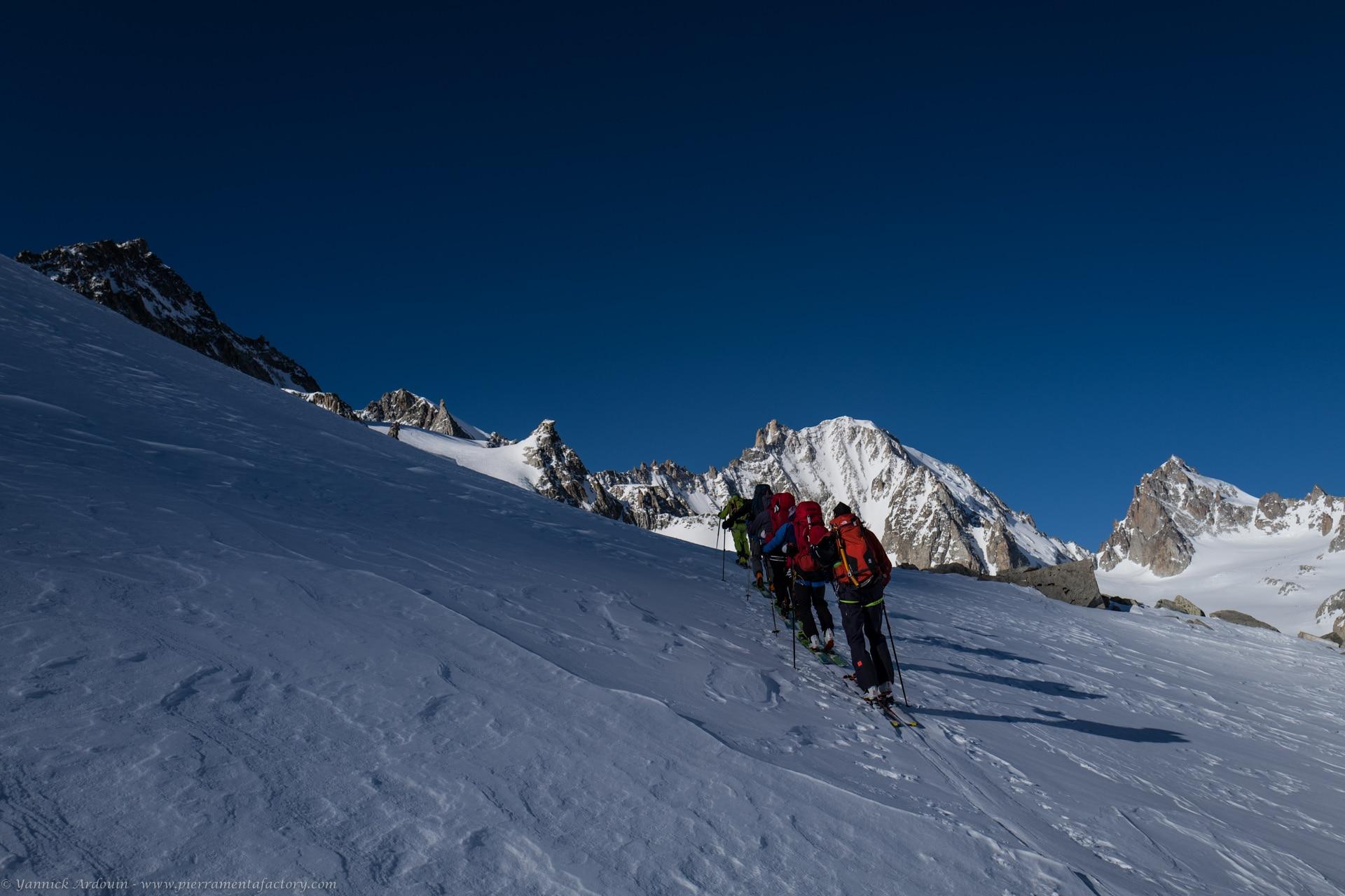 Raid ski Chamonix Zermatt