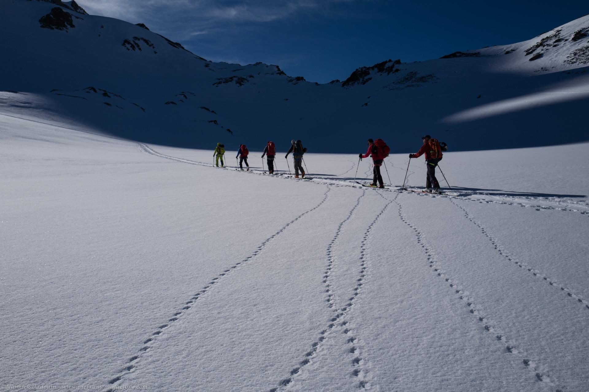 Raid ski Haute Route