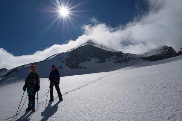 Les filles au(x) top(s) : Val d'Aoste et Mont Paradis