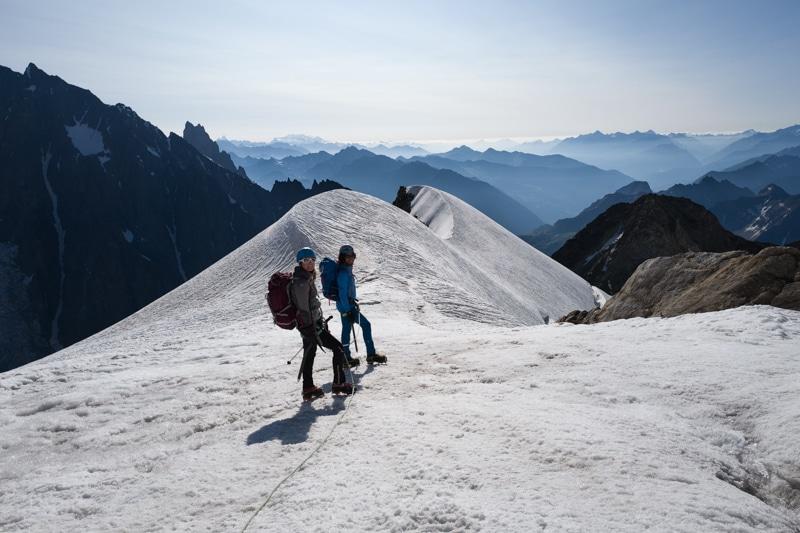 initiation alpinisme bivouac