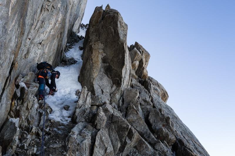 Alpinisme Grande Jorasses Guide