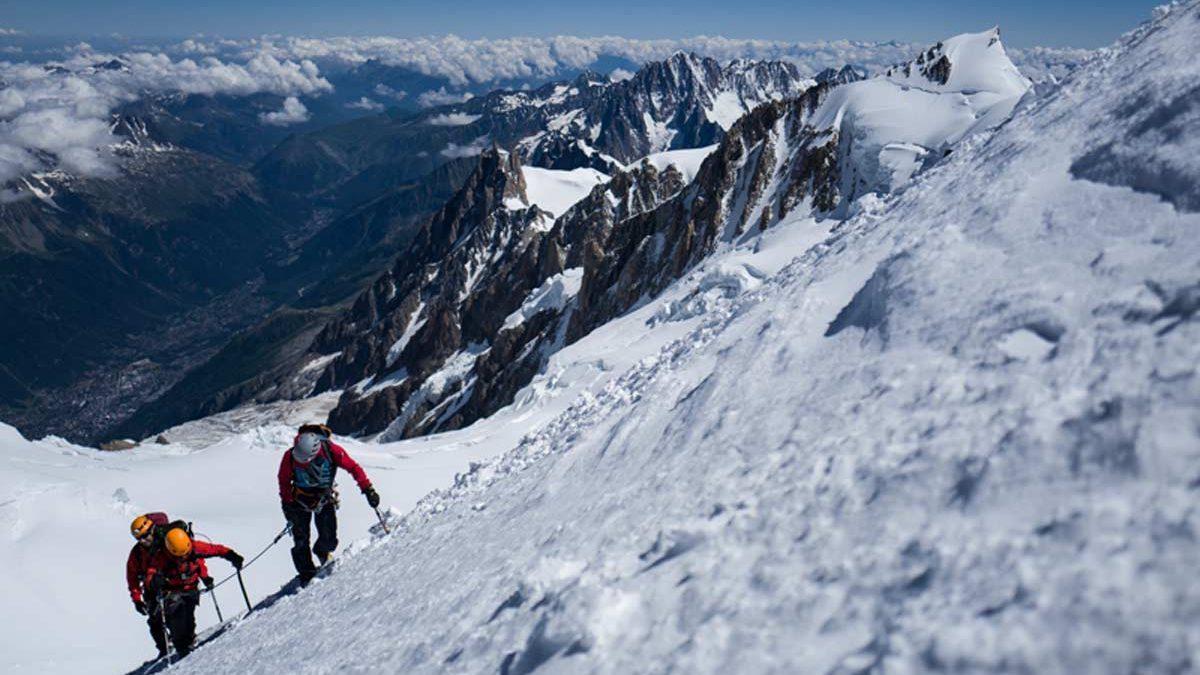 Un beau Mont Blanc