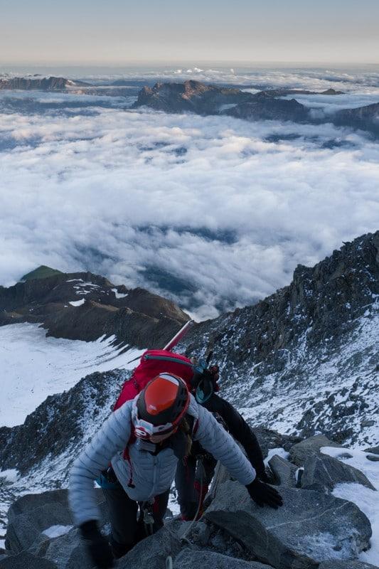 Ascension du mont blanc par la voie normale - Randonnée et alpinisme pour grimper le mont blanc