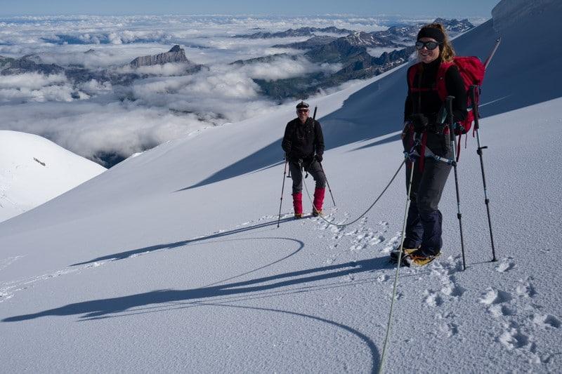 Ascension du mont blanc - Randonnée à ski et alpinisme pour grimper le mont blanc