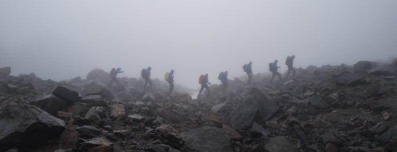 Ascension du mont blanc par la voie normale - Randonnée à ski et alpinisme pour grimper le mont blanc