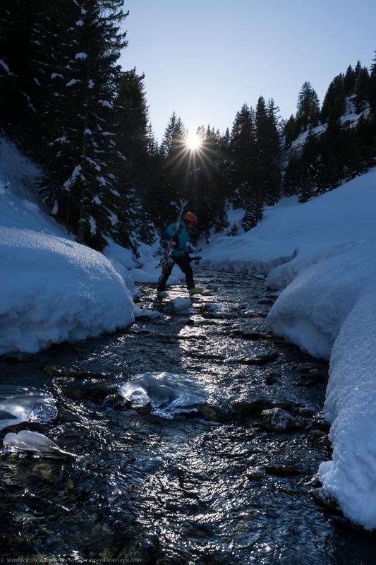 Ski de rando guide Areches