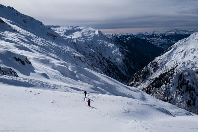 Ski rando Brévent