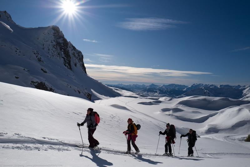 Ski randonnée Aiguilles rouges