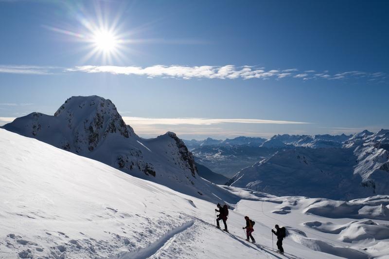 Ski rando Guide Brévent