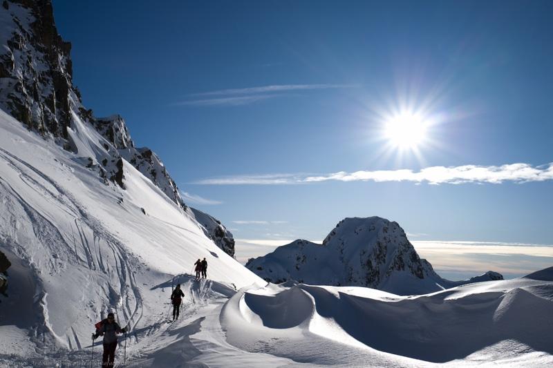 ski col de la Glière