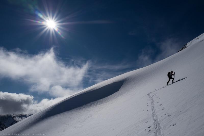 ski de randonnée Grand Mont d'Arêches