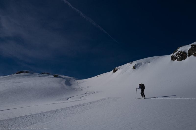 ski de randonnée guide Areches