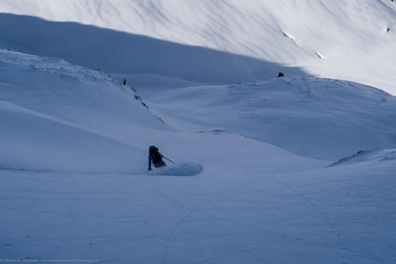 ski randonnée guide Arêches