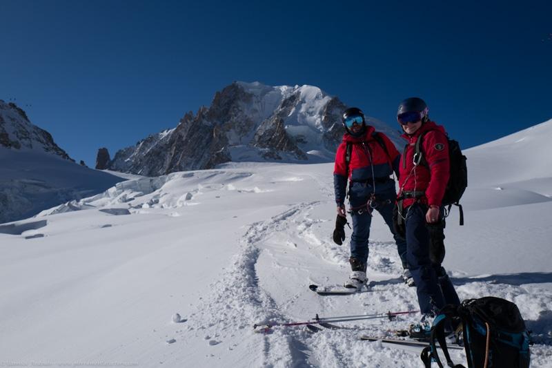 Vallée Blanche guide ski