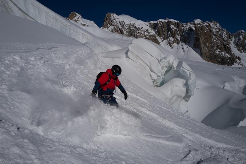 Ski vallée blanche Chamonix