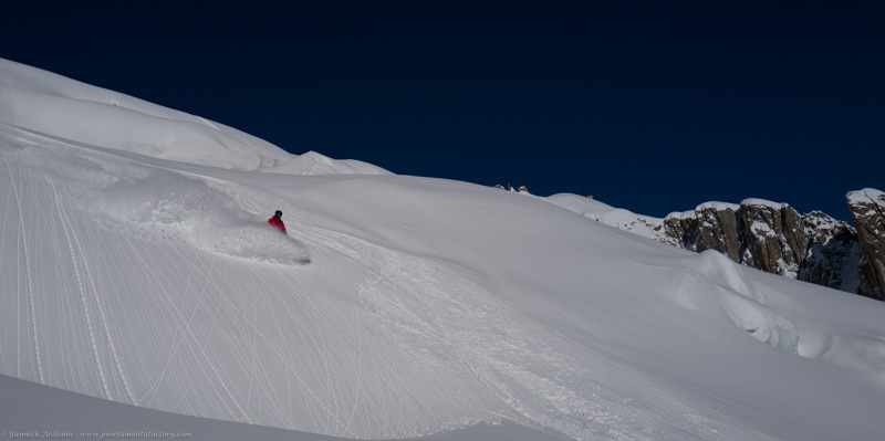 Vallée Blanche Chamonix Mont Blanc ski