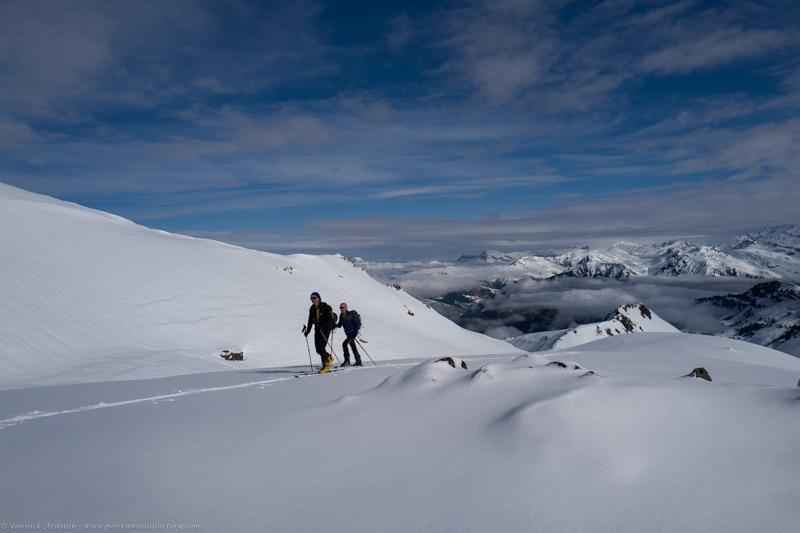 Ski rando Grand Mont