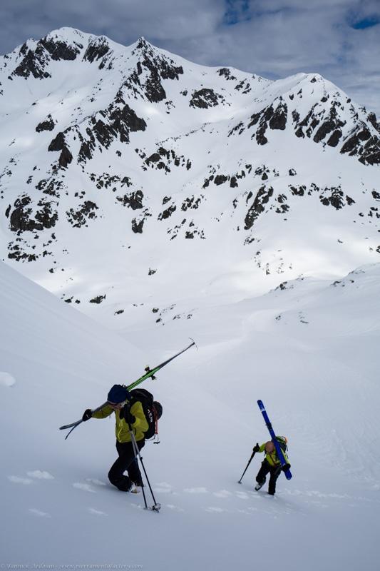 Pointe des besaces a ski