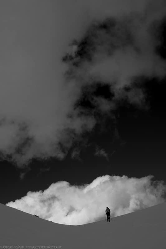 passage du Dard ski Areches