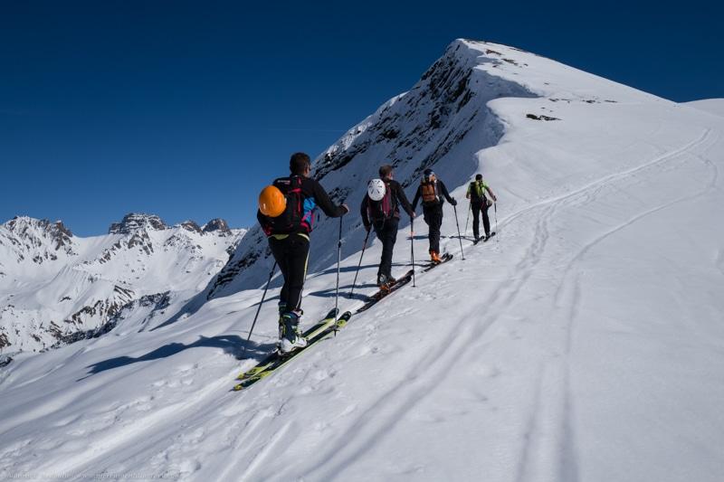 Ski rando Parstire