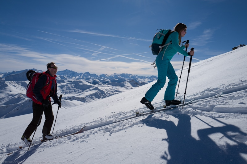 grand mont Areches guide confiance client