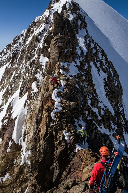 Traversée Lée Blanche Dôme des Glaciers
