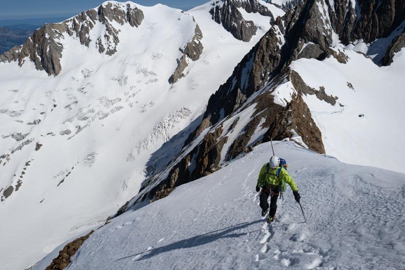 Traversée Tré la Tête Dôme des Glaciers