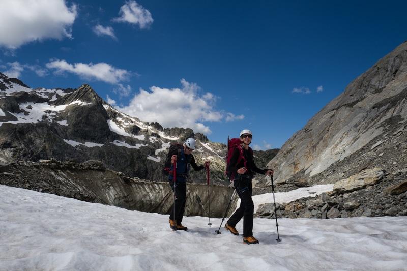 Glacier Tré la Tête