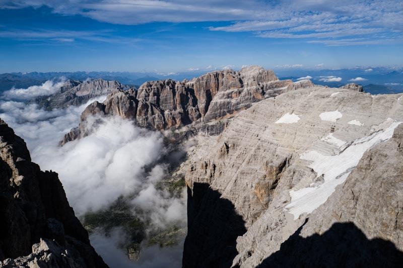 Crozzon di Brenta voie des Guides