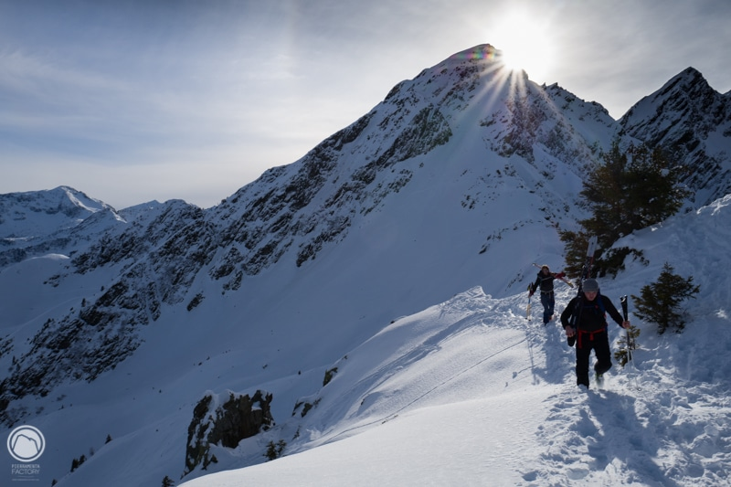 ski randonnée pédagogie
