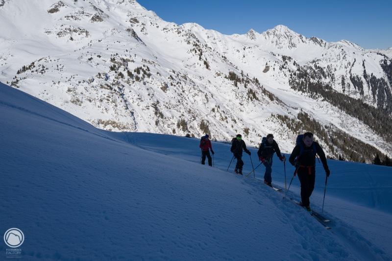 ski randonnée apprentissage pédagogie