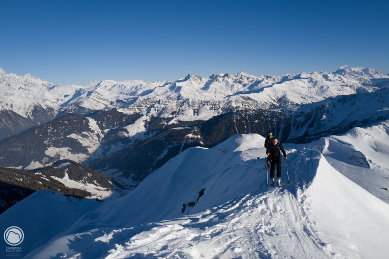 stage ski randonnée Areches Beaufort