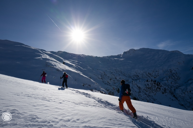 Ski de randonnée en Beaufortain avec un Guide