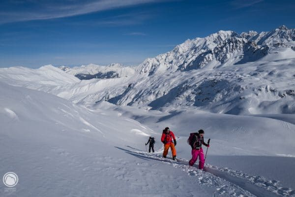 4 jours à skis en beaufortain