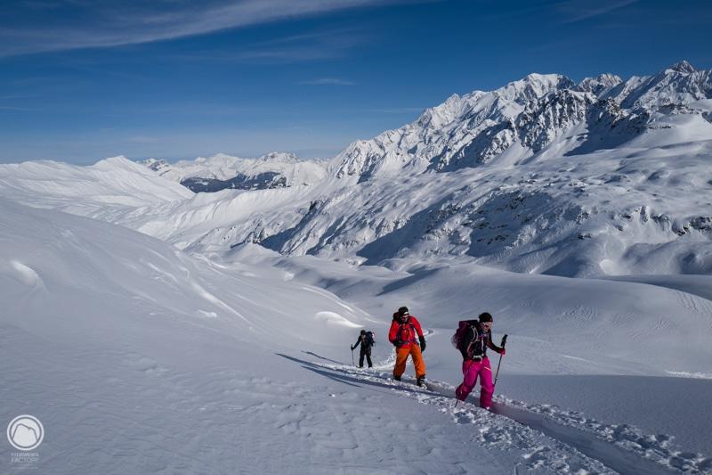 Ski de randonnée en Beaufortain Enclaves