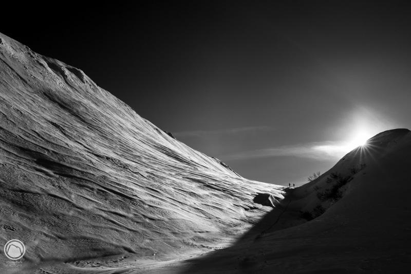 Ski de randonnée en Beaufortain Sallestet