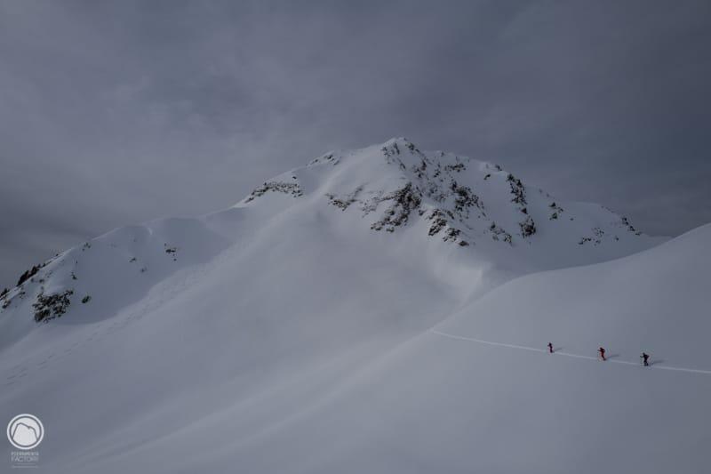 Ski de randonnée en Beaufortain Mirantin