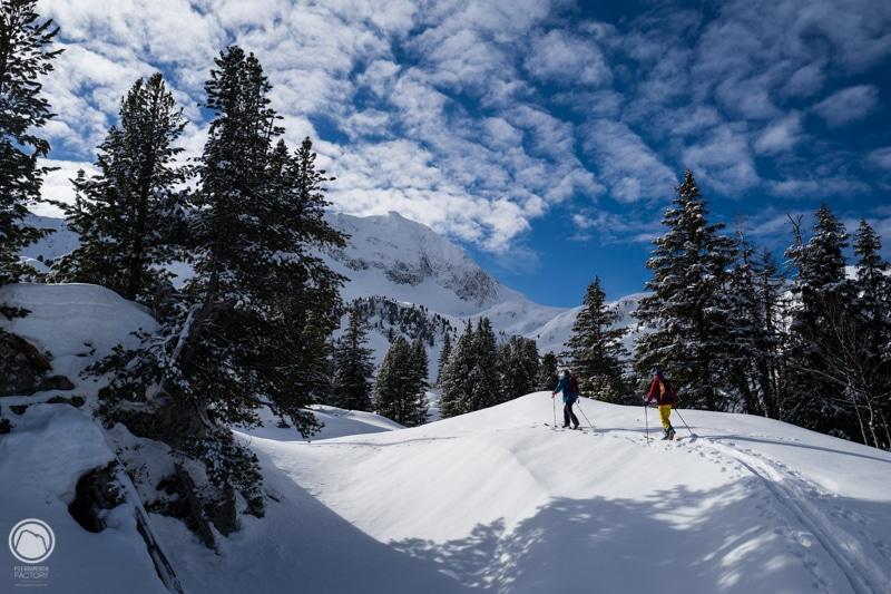 Pointe du Dard beaufortain ski