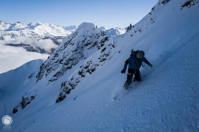 Legette Mirantin ski randonnée