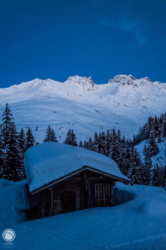 refuge ski rando Beaufortain