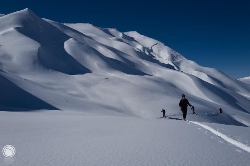 ski et refuge en Beaufortain