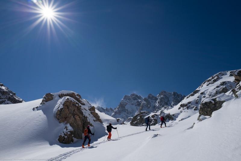 Ubaye séjour ski randonnée Guide