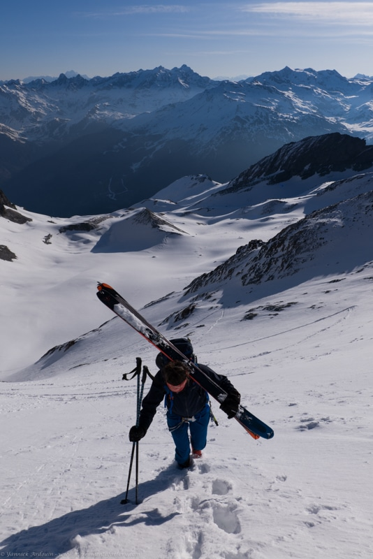 ski de rando Turia