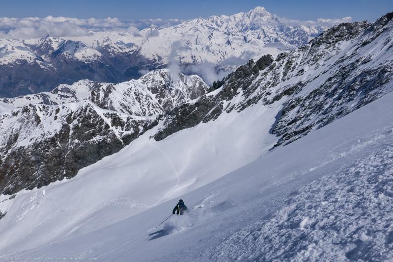 Ski glacier de Geay