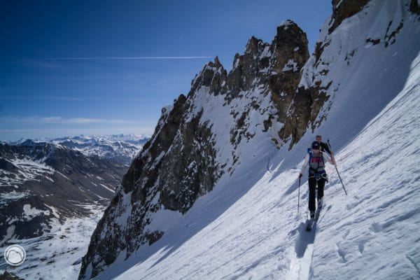 Encore du bon ski de printemps en Oisans