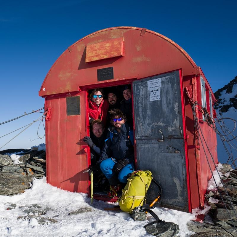 Ski Chamonix Zermatt bivouac Musso